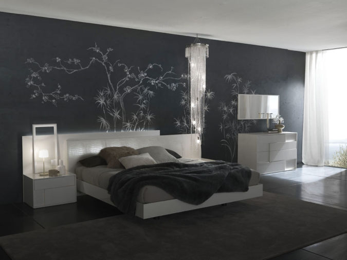 contemporary-bedroom-art Amazing and Catchy Wall Stickers for Home Decoration