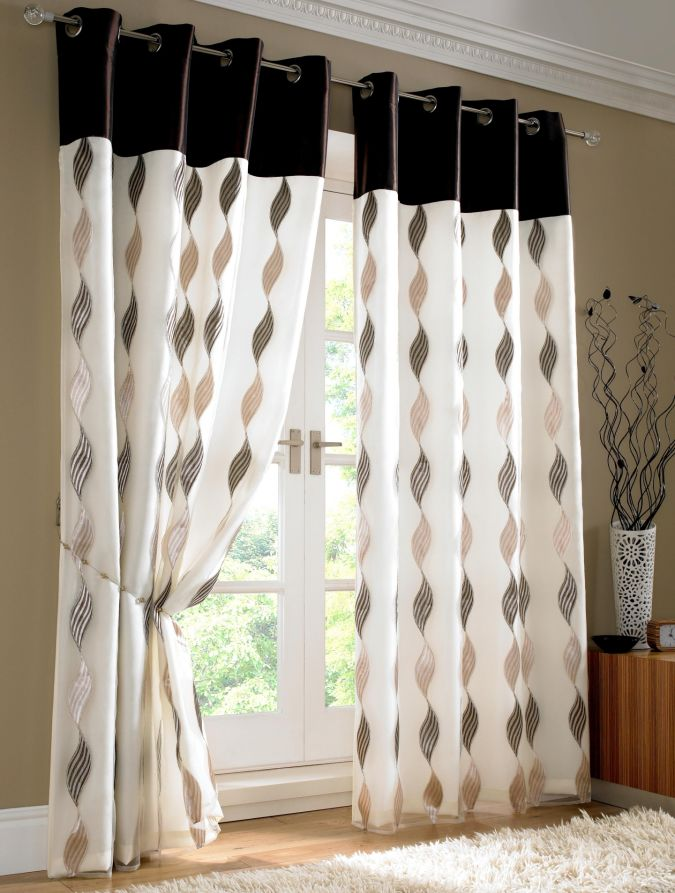 contemporary-curtain-design-2013-allhomedecors-com 20+ Awesome Images for the Latest Models of Curtains