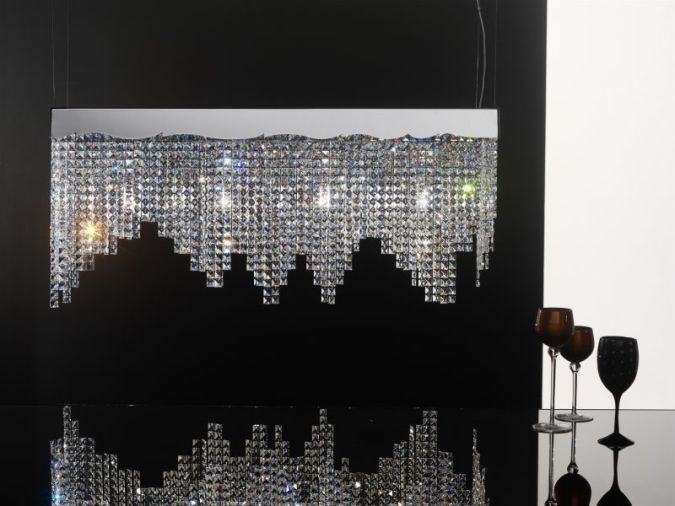 crystal Awesome and Dazzling Suspended Ceiling Decorations