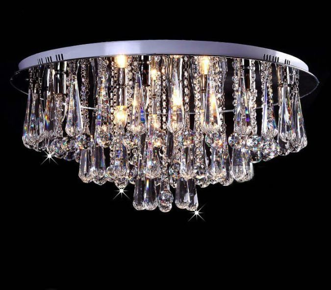 crystals Awesome and Dazzling Suspended Ceiling Decorations