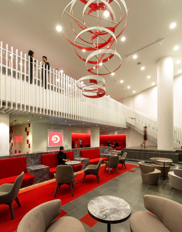 decorative-circles Awesome and Dazzling Suspended Ceiling Decorations