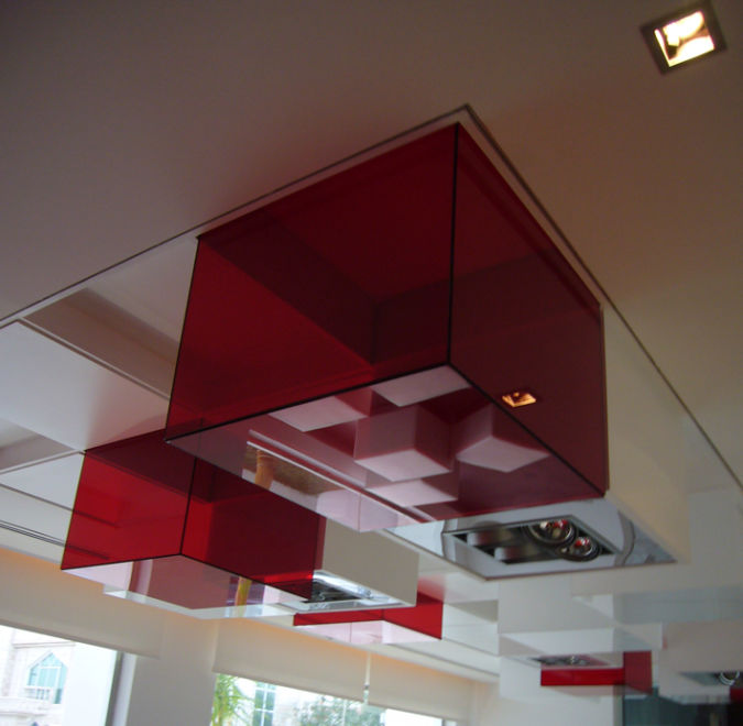 decorative-cubes Awesome and Dazzling Suspended Ceiling Decorations