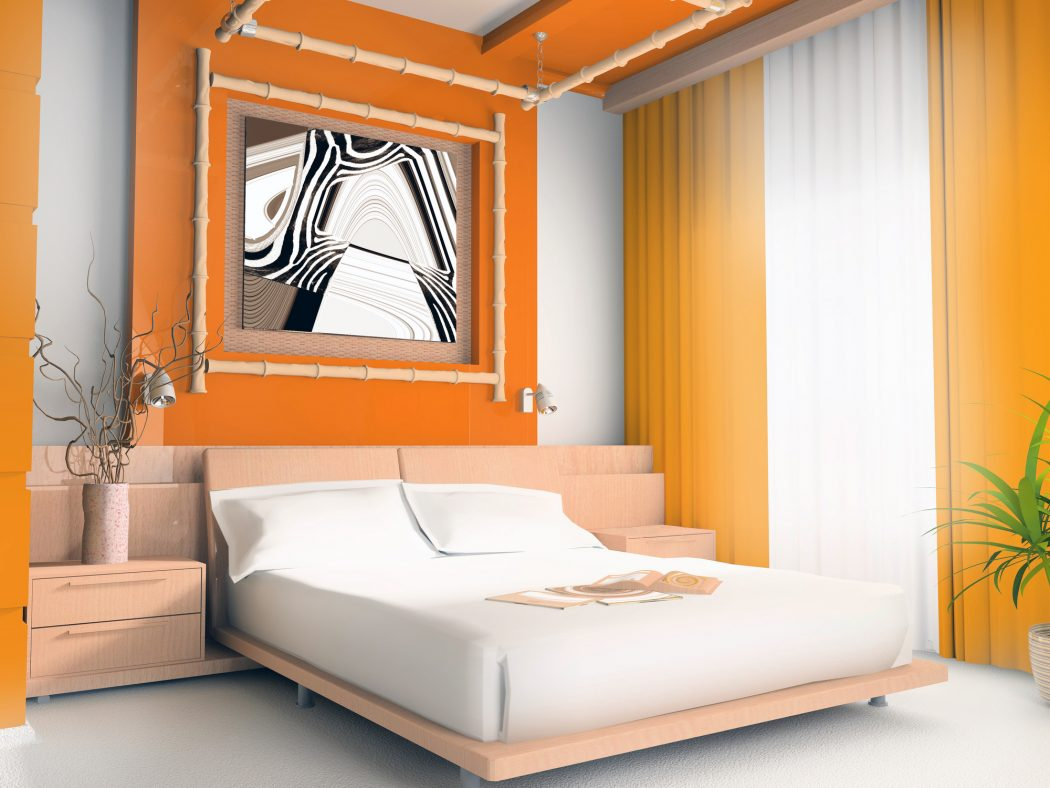 dreams-time Fabulous Orange Bedroom Decorating Ideas and Designs