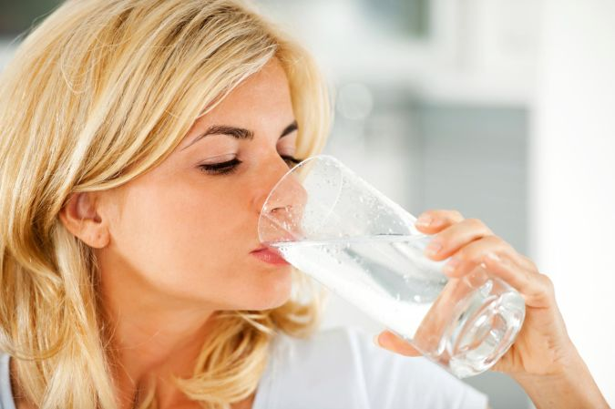 drink-water How to Lose Arm Fat
