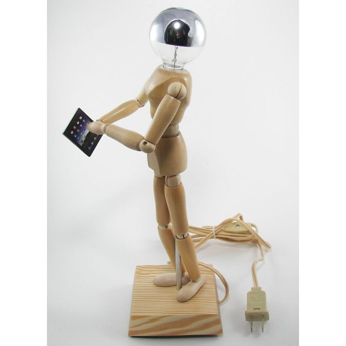 educated-robot 35 Amazing Robo Lamps for Your Children's Room