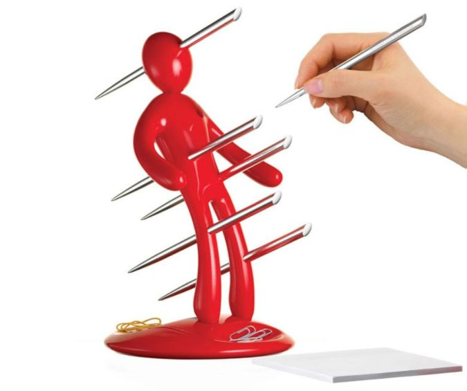ex-voodoo-doll-pen-holder-xl 20 Most Unique and Uncommon Gift Ideas for Everyone