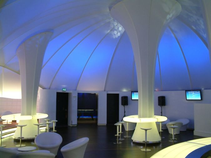 fabric-suspended-ceiling Awesome and Dazzling Suspended Ceiling Decorations