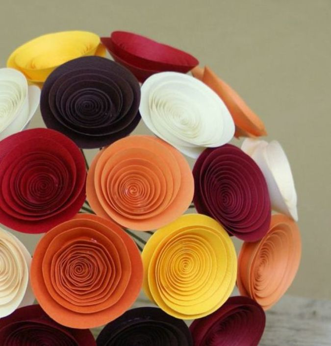 flower-thyme-handmade-paper-flower-bouquet-autumn-flowers-colors 23 Most Creative Handmade Gift Ideas