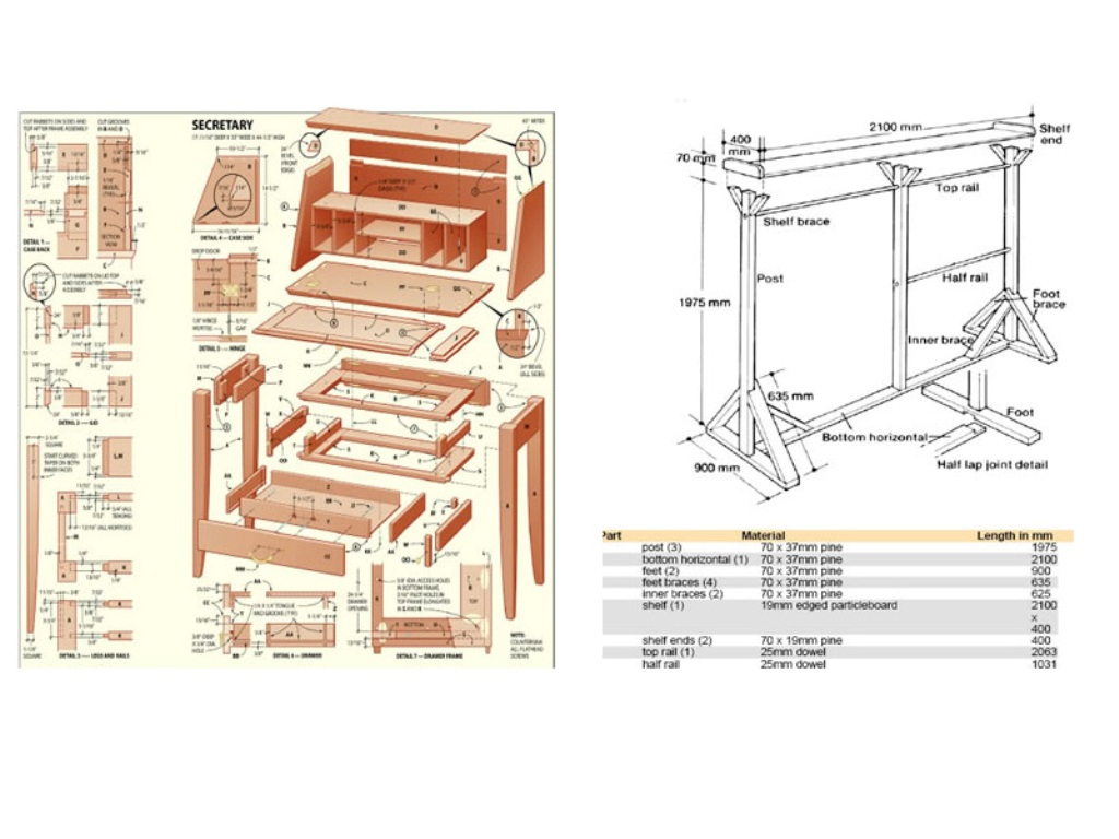 furniture-craft-plans 9000 Inspiring Furniture and Craft Plans