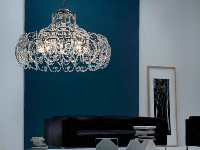 gemini-chandelier-pendant-lamp Awesome and Dazzling Suspended Ceiling Decorations
