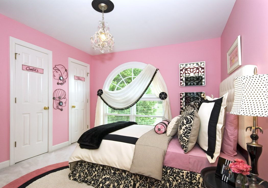 girls-room-design Girls' Bedroom Decoration Ideas and Tips