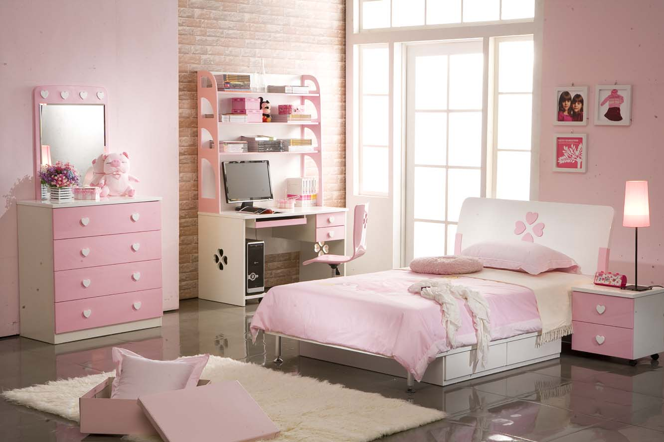 good-looking-sweet-bedroom-design-for-girl Girls' Bedroom Decoration Ideas and Tips
