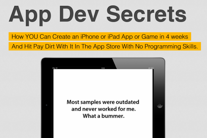 iPhone-Dev-Secrets Create Your iPhone or iPad App or Game the Easiest Way Using App Dev Secrets