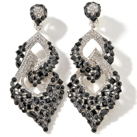 joan-boyce-too-good-to-be-true-in-blackwhite-earrings-d-20111021160440163153848-475x475 How To Use Earrings With Straight Hair, Tied or with Veil
