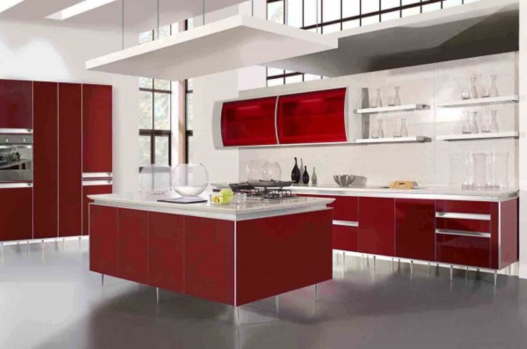 kitchen-cabinet-design-ideas Frugal And Stunning kitchen decoration ideas
