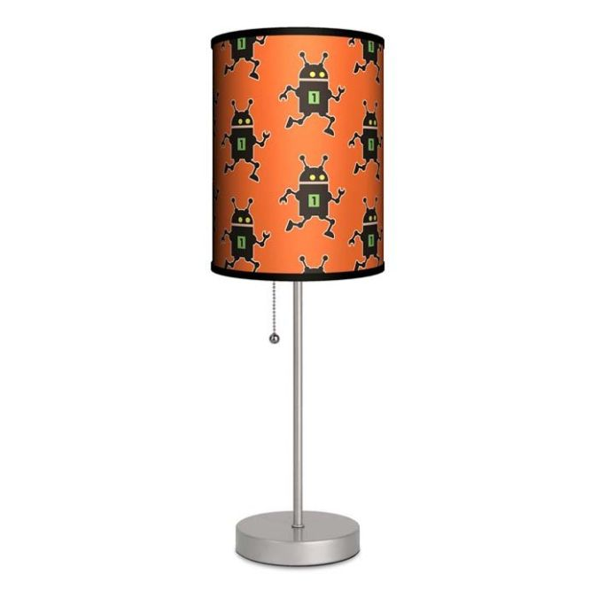 lampshade 35 Amazing Robo Lamps for Your Children's Room