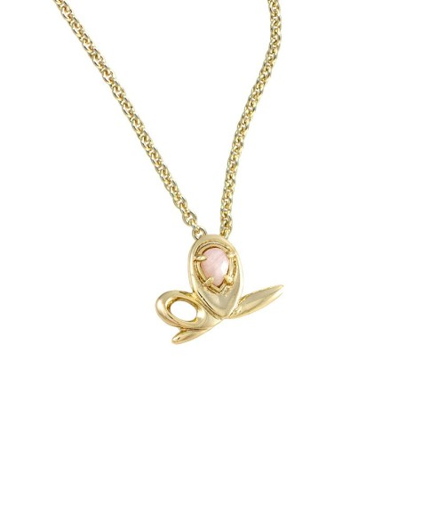 lolley-gold-pendant-necklace-pink-breast-cancer-seton-475x593 Demonstrate Your Devotion For Breast Cancer And Wear Its Jewelry