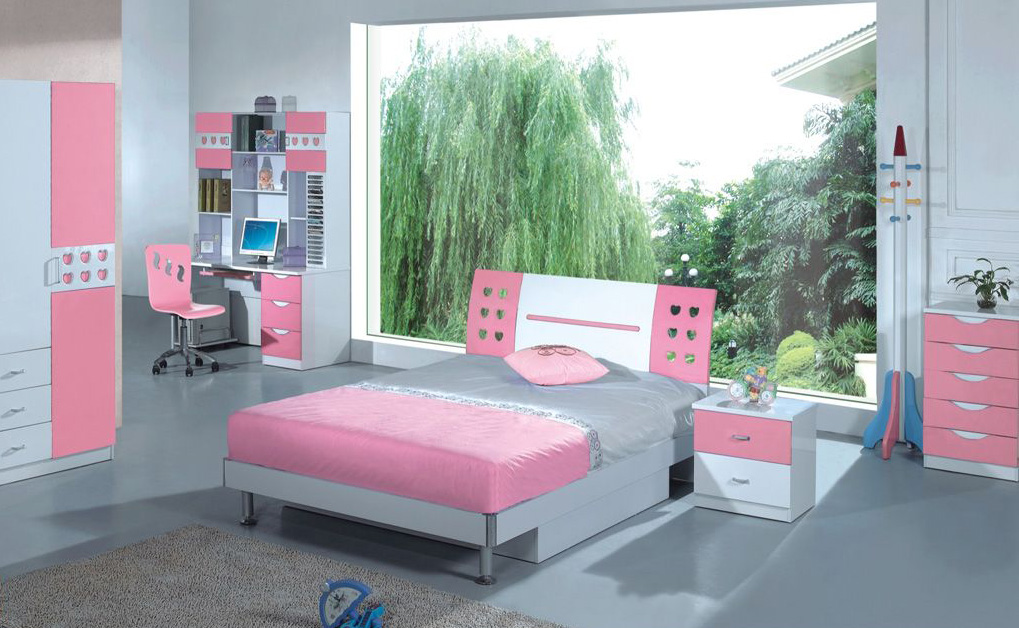 lovely-cool-ideas-for-pink-girls-bedrooms Girls' Bedroom Decoration Ideas and Tips