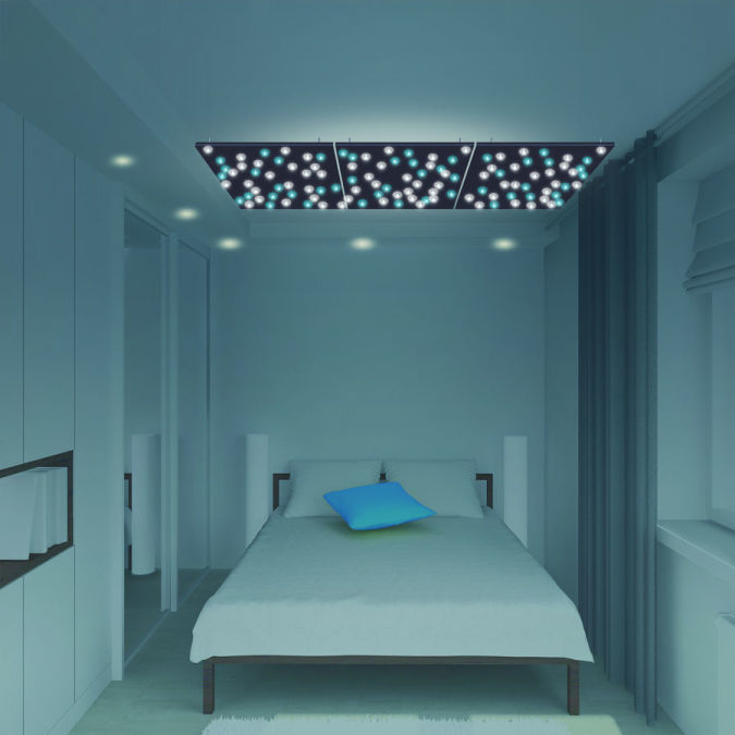 luminous-suspended-ceiling Awesome and Dazzling Suspended Ceiling Decorations