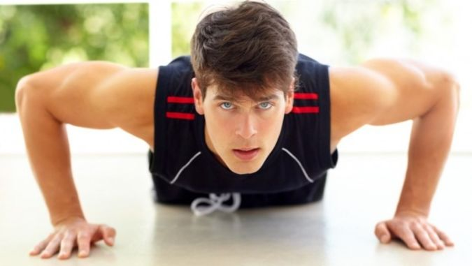 man-doing-pushup Do You Suffer from Insomnia?