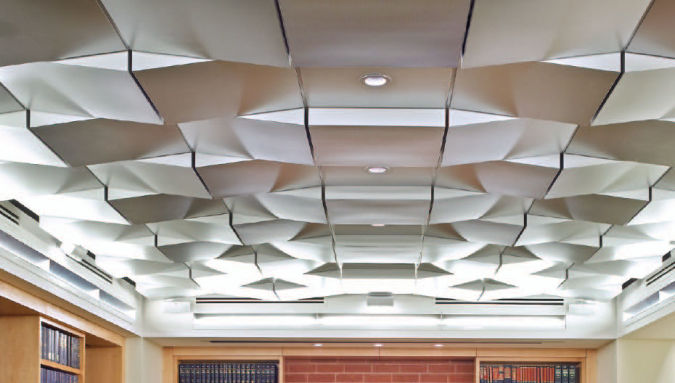 metal-suspended-ceiling Awesome and Dazzling Suspended Ceiling Decorations