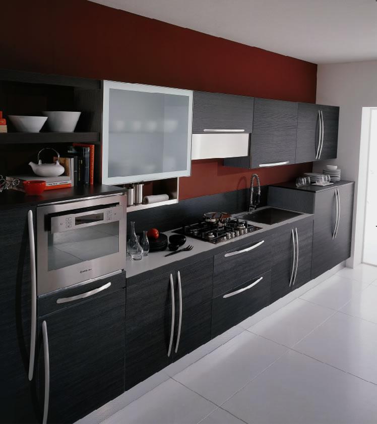 miro-light-graphite-kitchen-cabinets-2 Breathtaking And Stunning Italian Kitchen Designs