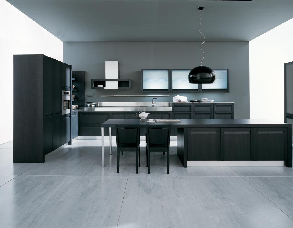 modern-and-minimalist-grey-kitchen-design-ideas Breathtaking And Stunning Italian Kitchen Designs
