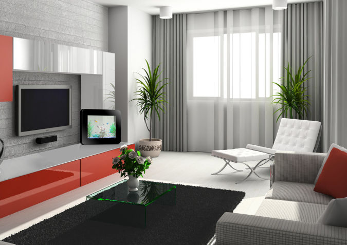 modern-bedroom-kitchen-home-2013-curtain-models-2 20+ Awesome Images for the Latest Models of Curtains