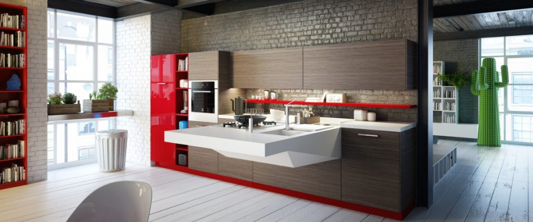 modern-kitchen-interior-design Frugal And Stunning kitchen decoration ideas