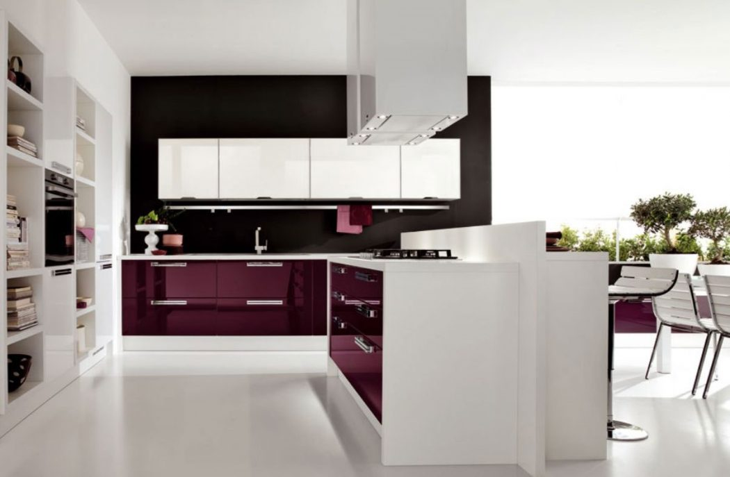 modern-kitchen Frugal And Stunning kitchen decoration ideas