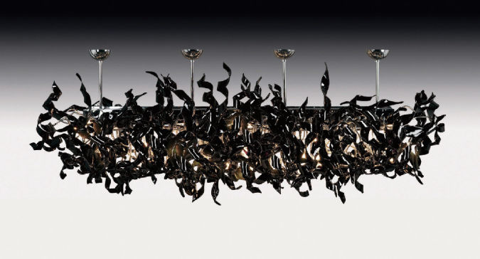 nastro-109-clb-jet-black Awesome and Dazzling Suspended Ceiling Decorations
