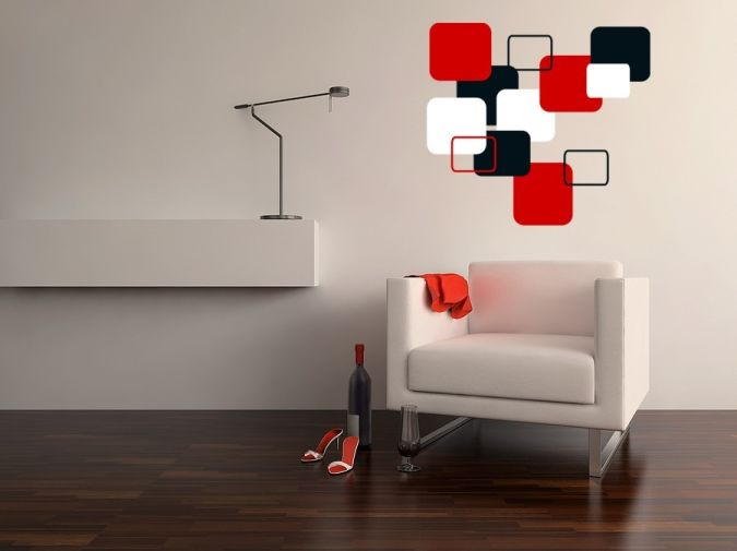 natural-cubist-wall-decals Amazing and Catchy Wall Stickers for Home Decoration