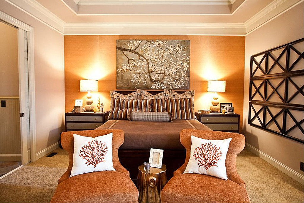 orange Fabulous Orange Bedroom Decorating Ideas and Designs