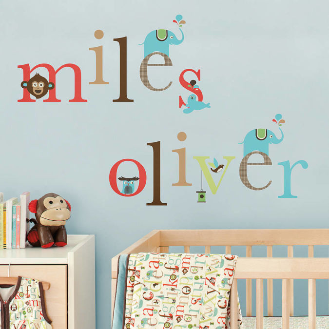 original_alphabet-zoo-or-tree-top-friends-wall-decals Amazing and Catchy Wall Stickers for Home Decoration