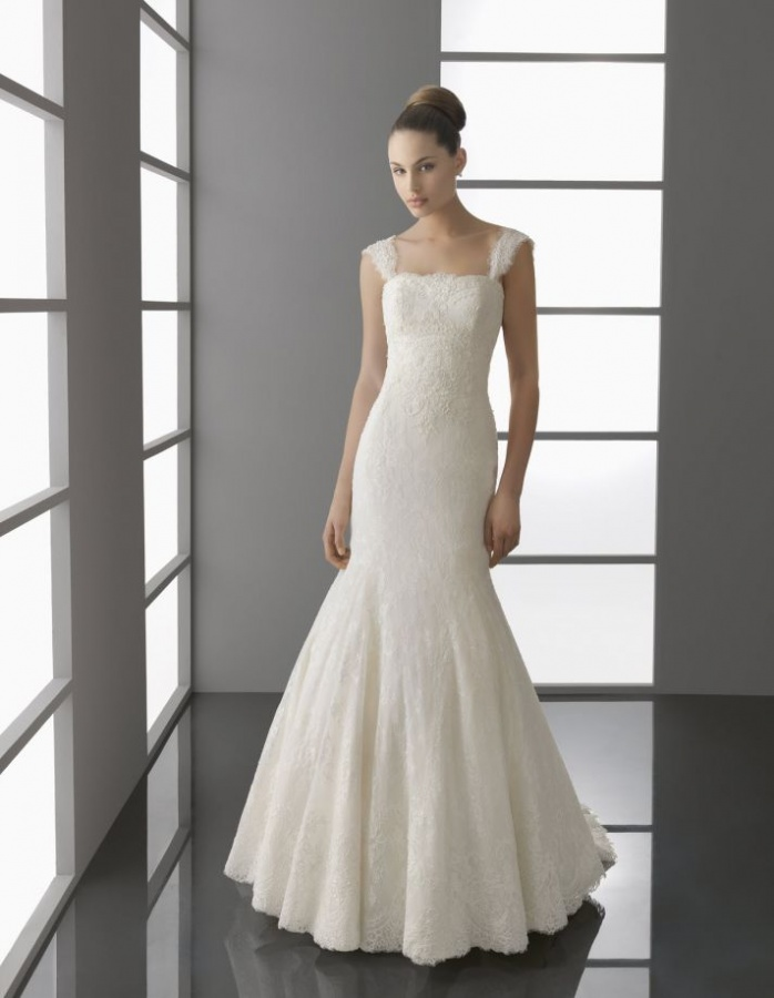 palmira-spring-2012-wedding-dress-aire-barcelona-ivory-lace-traditional-a-line-bridal-gown__full 70 Breathtaking Wedding Dresses to Look like a real princess