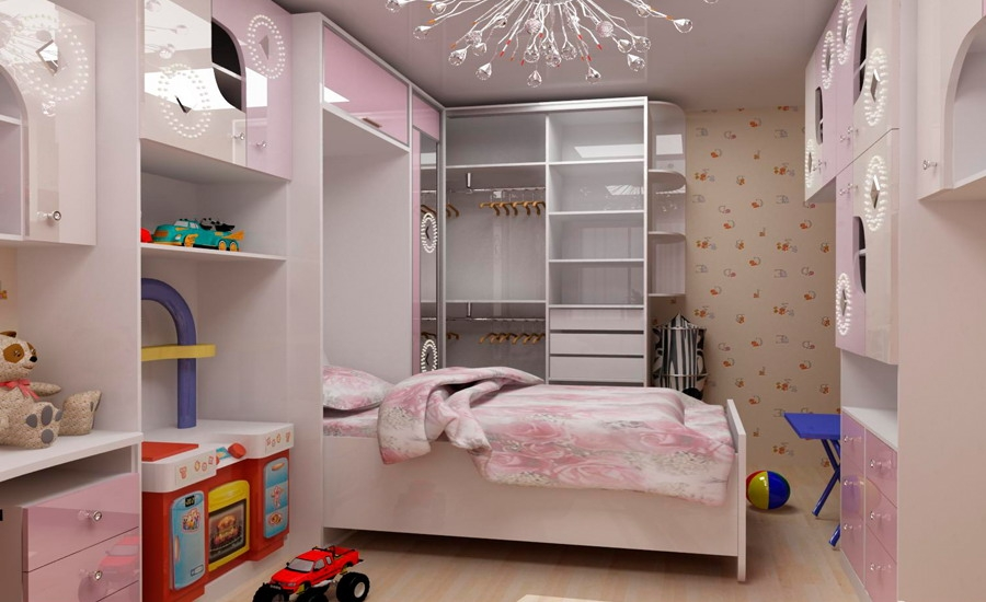 pink-girls-bedroom-8 Girls' Bedroom Decoration Ideas and Tips