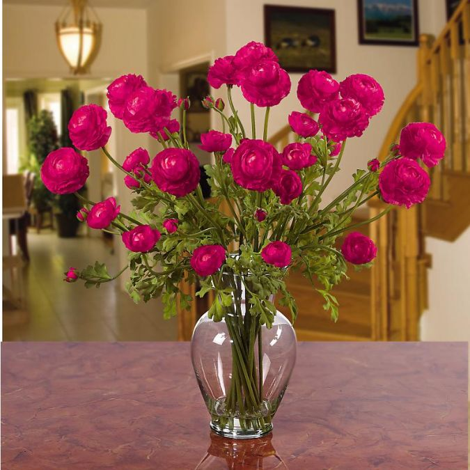 pink How to Decorate Your Home Using Flowers