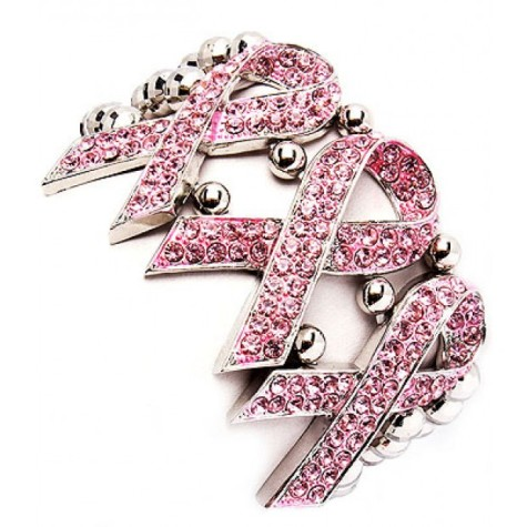 pink_ribbon_stretch_bracelet_crystal_cz_studs_silver_plated_metal_casting-475x475 Demonstrate Your Devotion For Breast Cancer And Wear Its Jewelry