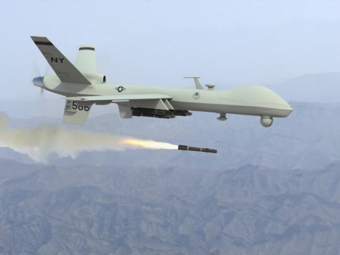 predator-drone. Which Robots Do We Use in Military Applications?