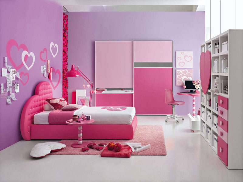 princess-girl-bedroom-colors-for-teens-foto-image-01 Girls' Bedroom Decoration Ideas and Tips