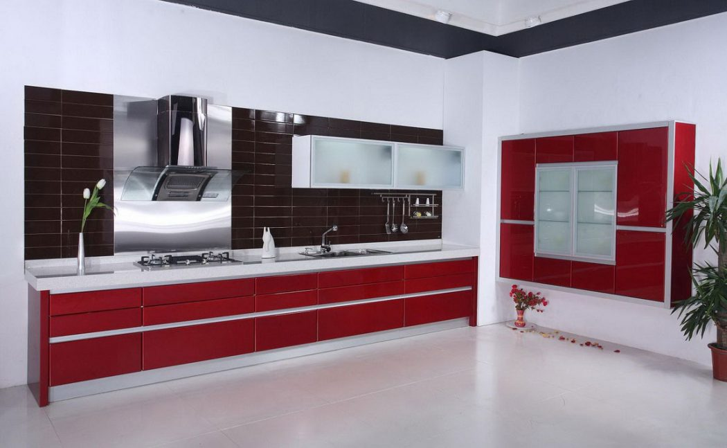 red-best-kitchen-ideas Frugal And Stunning kitchen decoration ideas