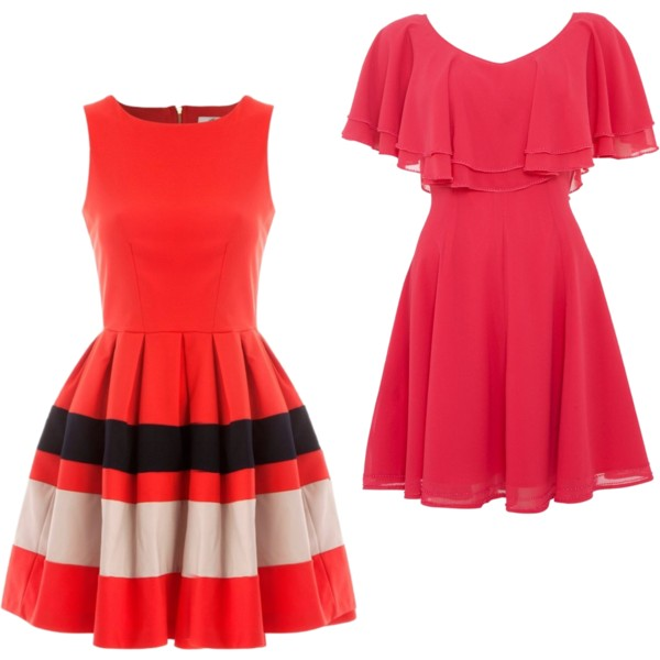 red-dresses The Latest And Hottest Fashion Trends for Spring