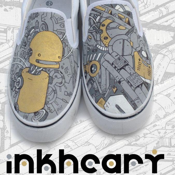 robot-print-shoes Best 10 Robot Gift Ideas