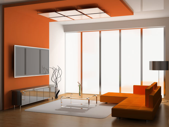 room-with-modern-ceiling-design-idea-building-scheme-design-ideas Awesome and Dazzling Suspended Ceiling Decorations