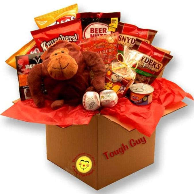 snacks. How to Choose Birthday Care Package