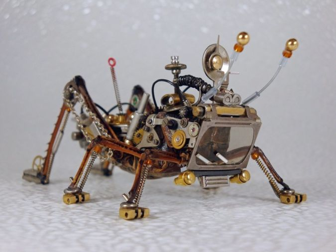 steampunk_clockpunk_bugs_by_dkart How do Robo-Bugs Look Like?