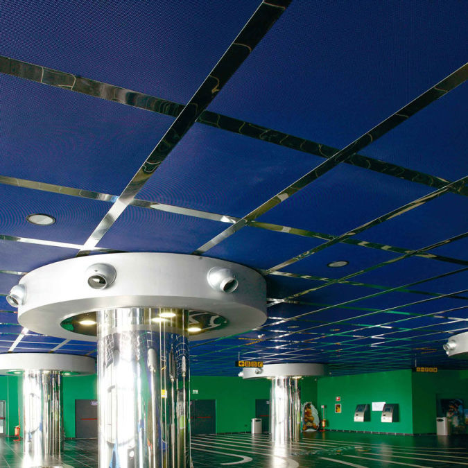 suspended-ceiling-structure Awesome and Dazzling Suspended Ceiling Decorations