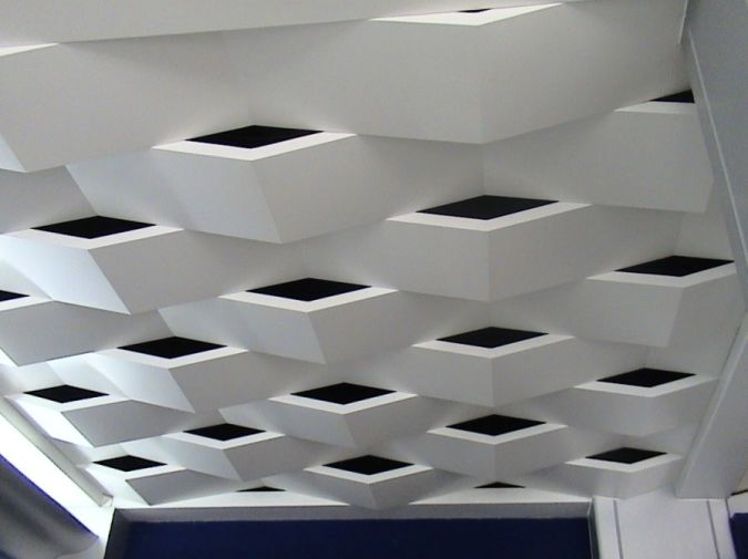suspended-ceiling Awesome and Dazzling Suspended Ceiling Decorations