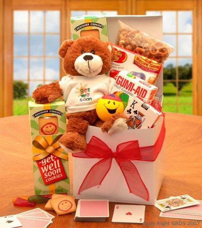 teddy How to Choose Birthday Care Package
