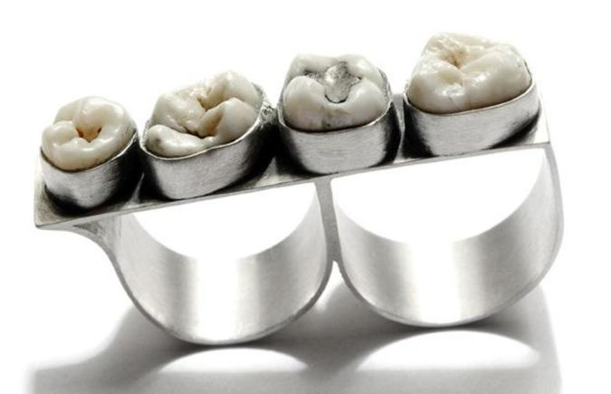 teeth-ring The Ugliest Gift Ideas for the Person Whom You Detest